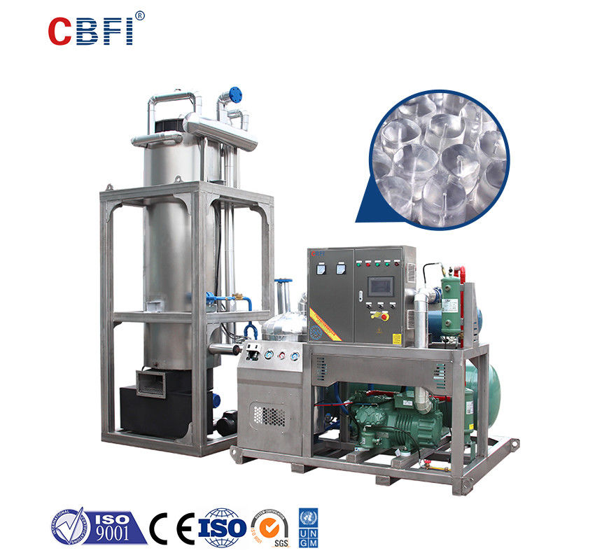 CBFI Poland 30 tons per day tube ice making machines project